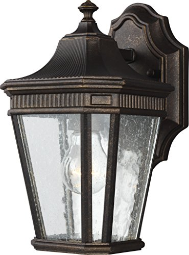 Feiss OL5420GBZ Cotswold Lane Outdoor Patio Lighting Wall Lantern, Bronze, 1-Light (7