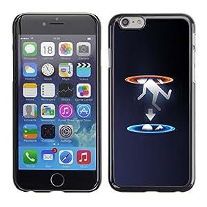 Caucho caso de Shell duro de la cubierta de accesorios de protección BY RAYDREAMMM - Apple Iphone 6 Plus 5.5 - Portal gota