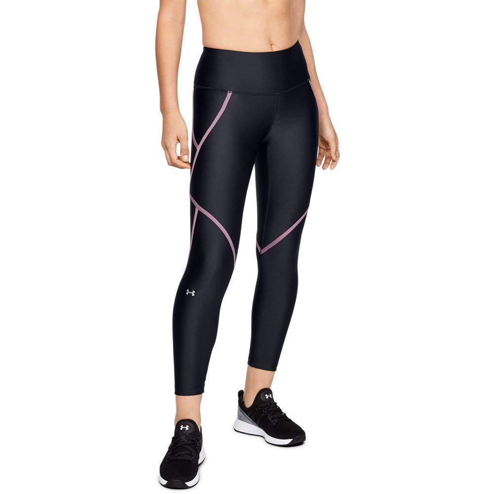 bfefedb20958c9 Amazon.com: Under Armour Women's HeatGear Armour Edgelit Ankle Crop Leggings:  Clothing