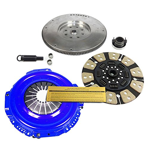 STAGE 3 CLUTCH KIT+ FLYWHEEL for 94-97 DODGE RAM 2500 3500 5.9L 6CYL CUMMINS T/D