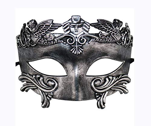 BAWASEEHI Masquerade Mask for Men- Roman Greek Mythological Ventian Mask Halloween -