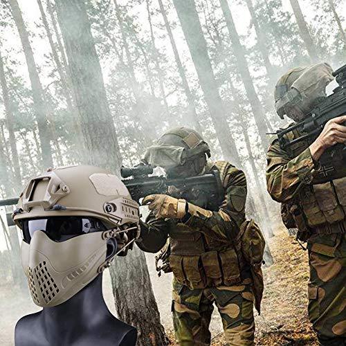 332PageAnn Masque Tactique extérieur Système de Bandeau à Deux Modes, Masque de Protection Tactique Visage Inférieure… 5