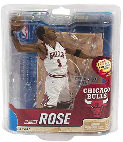 47fe5d55664b3 NBA Chicago Bulls McFarlane 2012 Series 20 Derrick Rose (2) Action Figure