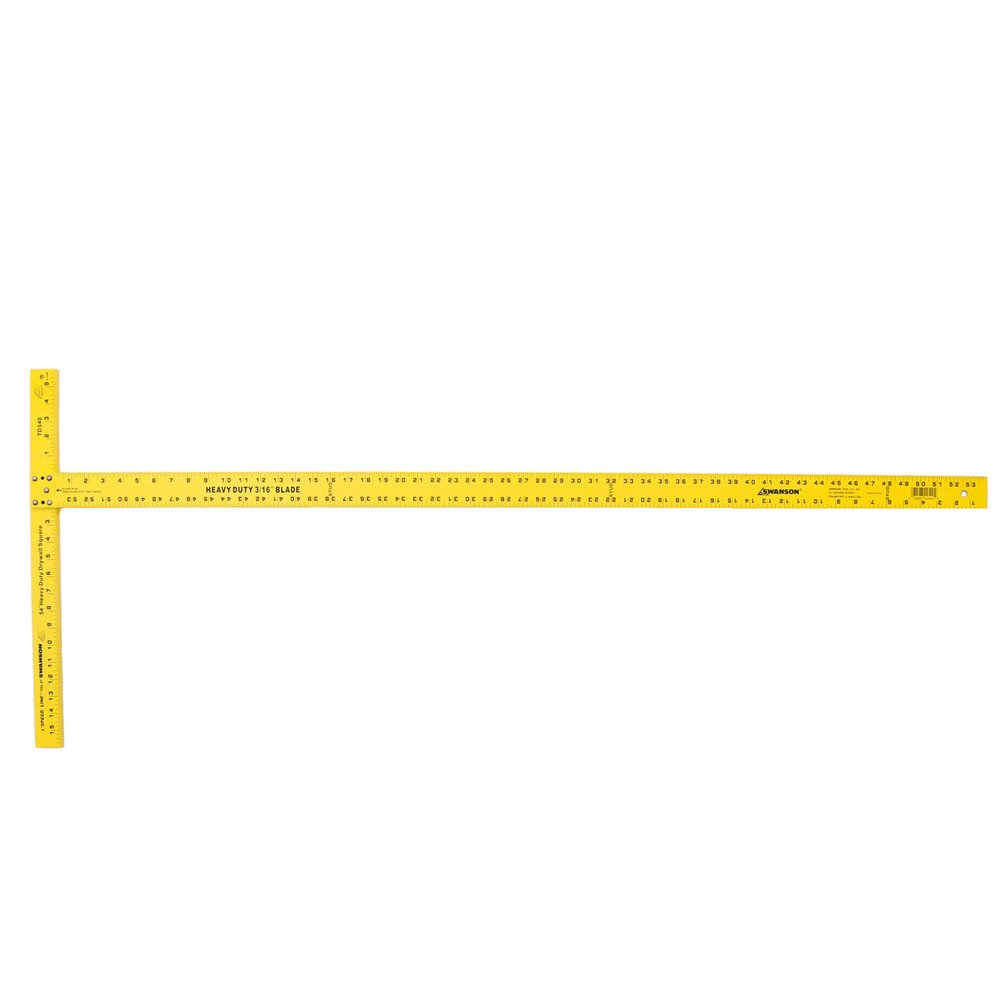 Swanson Tool TD540 Wallboard Square 54-Inch (Aluminum and Yellow)