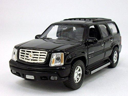 Welly 4.75 Inch Cadillac Escalade Scale Diecast Metal Model - - Cadillac Black Model
