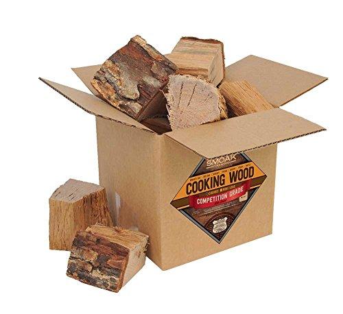 - Smoak Firewood Cooking Wood Chunks - USDA Certified Kiln Dried (White Oak, 8-10 lbs)