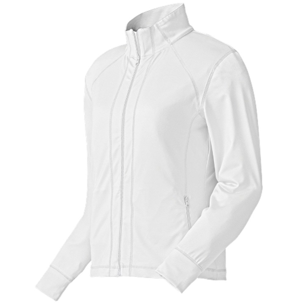 FootJoy Performance Full Zip Golf Mid Layer 2015 Womens White Small by FootJoy