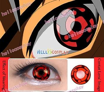 anime madara uchiha eternal mangekyo sharingan cosplay eyes amazon