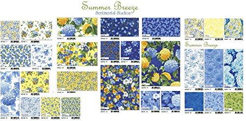 Summer Breeze Prefringed Rag Quilt Kit