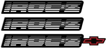 1993 1994 1995 1996 1997 1998 1999 2000 2001 2002 Camaro Crest-Bowtie Emblem