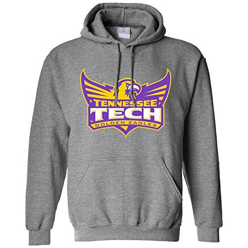 Campus Merchandise NCAA Tennessee Tech Golden Eagles Long Sleeve Hoodie, Medium, Athletic Heather