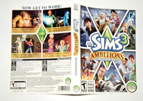 Sims 3: Ambitions Expansion Pack for PC (Sims 3 The Sims 3 Ambitions Packs)