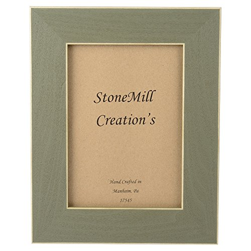 StoneMill Creation's Distressed Wood Picture (Custom Western Picture Frame)