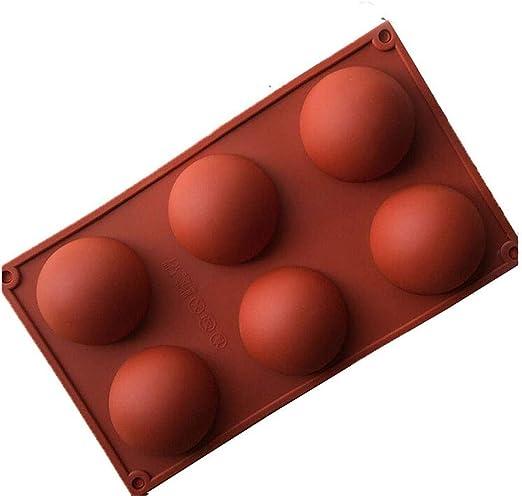 Peppa Penguin - Molde de Silicona para Horno, 6 Semi esferas, Antideslizante, Muy Resistente, para Hornear: Amazon.es: Hogar