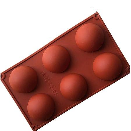 Peppa Penguin - Molde de Silicona para Horno, 6 Semi esferas ...