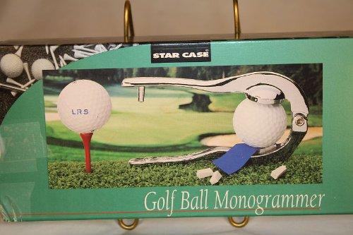 STARケースゴルフボールMonogrammer   B001FJ364C