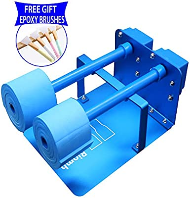 Comes with 1 Wand and 2 Foams Cup Turner for Crafts Tumbler,Metal Tumbler Spinner Machine for Drying Epoxy Resin-with Rotisserie Motor /& Balance Steering Shaft