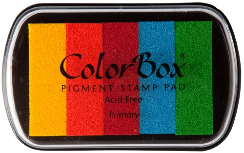ColorBox Classic Pigment Multi-color Inkpads, Primary