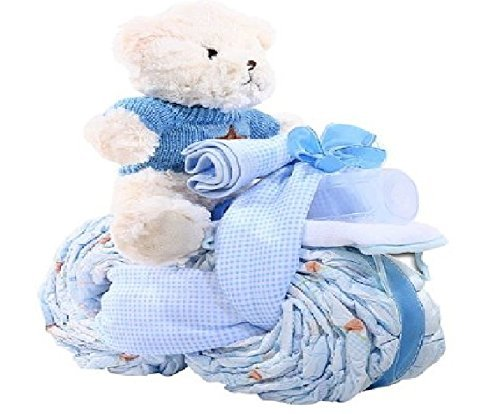 Alder Creek Gifts Tricycle Diaper Cake-Boy, 27 Count from Alder Creek Gifts