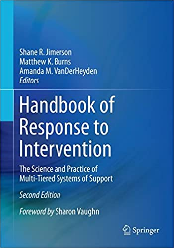 Amazon livres télécharger sur ipad Handbook of Response to Intervention: The Science and Practice of Multi-Tiered Systems of Support 1489975675 (French Edition) FB2