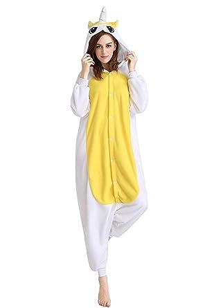 dd7d19393e064 Minetom Adulte Unisexe Anime Animaux Cosplay Ensemble Combinaison Onesie  Pyjama À Capuche Halloween Costume Soirée De