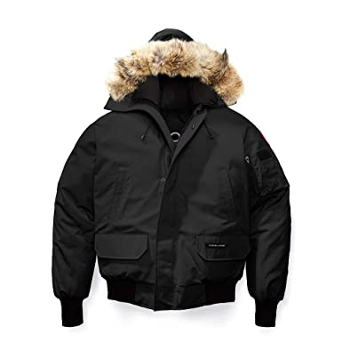 c60421bc2cd1f Amazon.com: Winter Goose Down Men's Canada Chilliwack Bomber Jacket:  Clothing