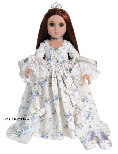(CARPATINA Marie Antoinette Dress and Shoes for 18 Slim and Magic Attic)