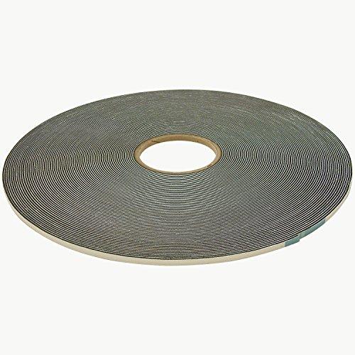 - J.V. Converting SCF-01/BLK0625025 JVCC SCF-01 Single Coated PVC Foam Tape: 1/16