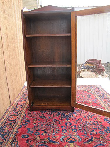 Antique Arts And Crafts One Door Bookcase w4047 (Stickley Era)