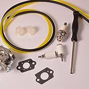 Amazon.com: HIPA wt-973 carburador con línea de combustible ...