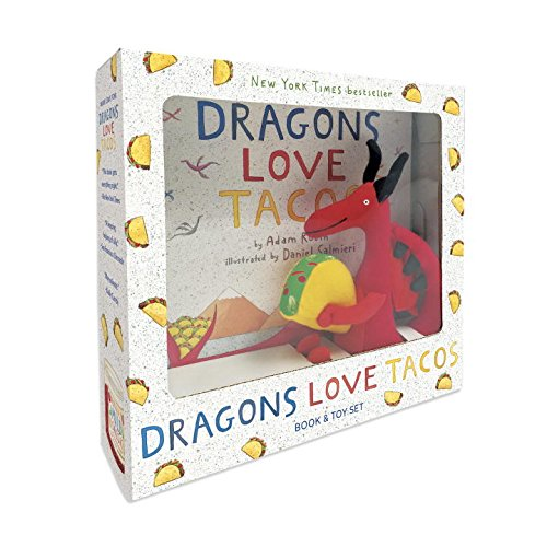 dragons love tacos book set and toy