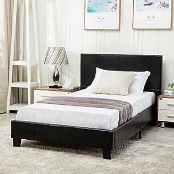 Amazon Com Nexera Pocono 54 Inch Storage Bed Frame Full