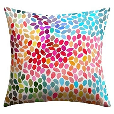 DistiKem(TM) DENY Designs Garima Dhawan Rain 6 Outdoor Throw Pillow 20 by 20-Inch