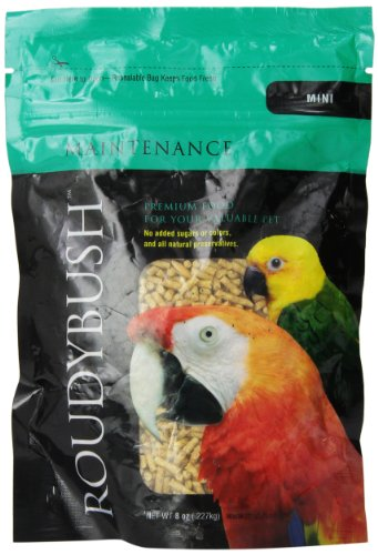 RoudyBush Daily Maintenance Bird Food, Mini, 8-Ounce ()