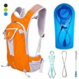 Hydration Backpack w 2 Liter Water Bladder and Cleaning Kit