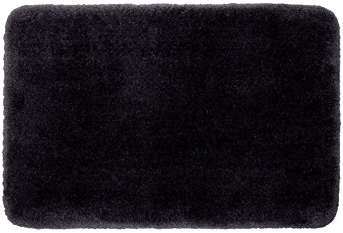 STAINMASTER TruSoft Luxurious Bath Rug, 24-By-40 Inch Black Pepper (Luxurious Bath Rug)