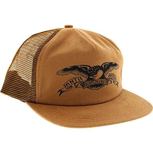 Anti Hero Skateboards Basic Eagle Brown Mesh Trucker Hat - Adjustable