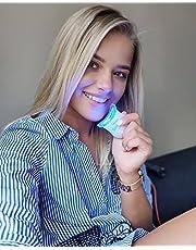 Tandenbleekset Smilekit – Geen Peroxide (0%) – Teeth Whitening - 100% Natuurlijk - Dierproefvrij & Vegan Friendly - Tandenbleker Smilekit – Tanden bleken – Professionele Tandenbleek met 3 Gelspuiten