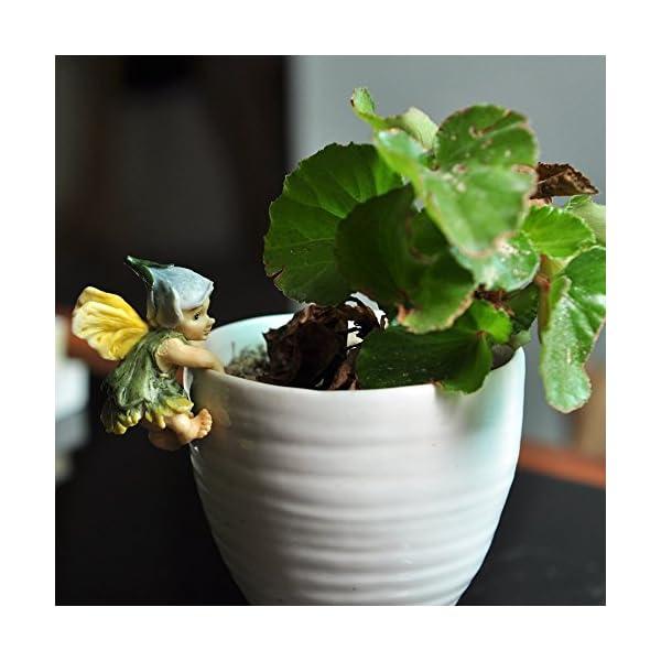 Top Collection Miniature Fairy Garden And Terrarium Fairy Baby Flower Pot And Vase Hugger Mini