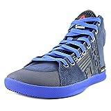 Reebok Crossfit Lite TR Suede Shoe - Faux Indigo-Vital Blue-Black - Womens - 9