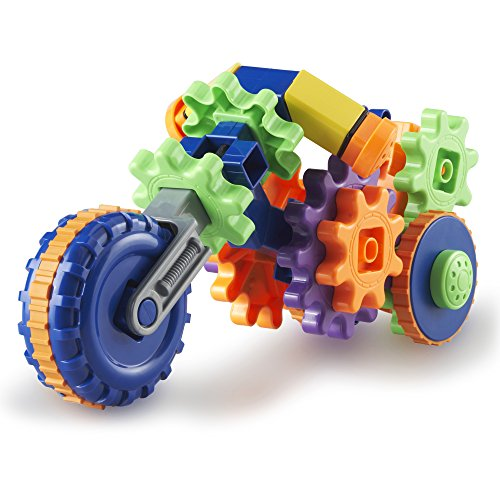 Construction 30 Piece Set (Learning Resources Gears! Gears! Gears! Cycle Gears, 30 Pieces)
