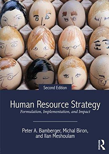 Human Resource Strategy : Formulation, Implementation, And Impact, 2Nd Edition (Human Resource Strategy Formulation Implementation And Impact)