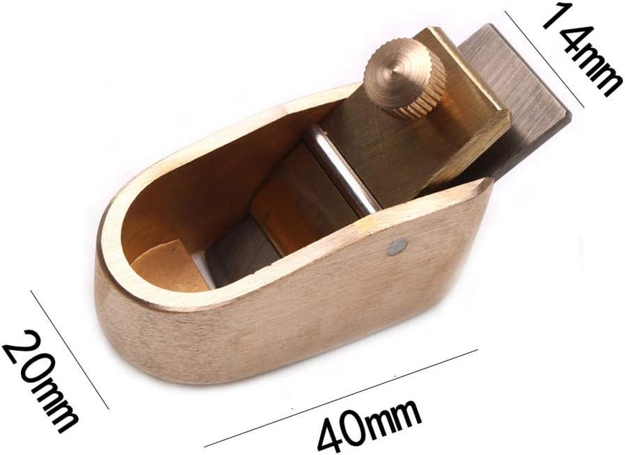 lame 8mm Yiwa Outils de lutherie Mini rabots en laiton Rabots de menuiserie /5#