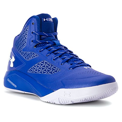 Under Armour Clutchfit Drive 2 Basketball Scarpe Team Royal/Metallic Silver