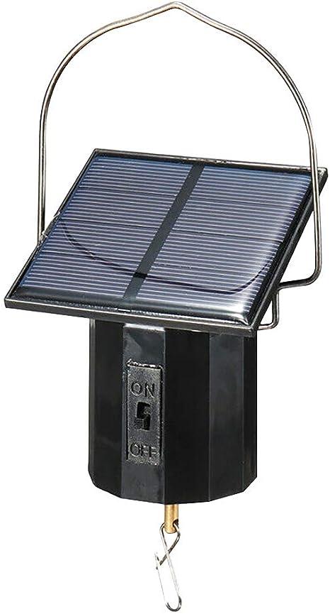 Mioloe Motor de pantalla colgante motor giratorio para campanas de viento adorno molinete hilandero viento motor solar flexible herramienta eléctrica grande: Amazon.es: Instrumentos musicales