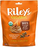 Riley's Organics – Peanut Butter & Molasses – 5 oz Small Biscuits – Human Grade Organic Dog Treats – Resealable Bag Review