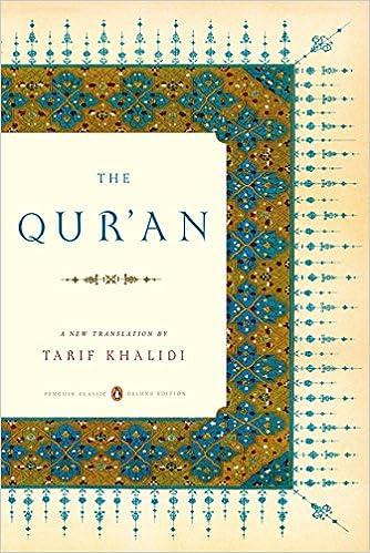 The Qur'an: A New Translation: Tarif Khalidi: 9780143105886