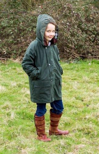 Kanyon Sapling Kinder Lederstiefel, wasserundurchlässig und atmungsaktiv