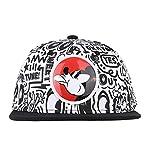 Hatson Mickey Mouse Collaboration Snapback Basic CAP Fasion HAT Unisex Free Size (301 BK)