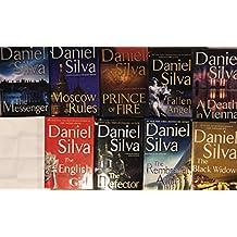 Daniel Silva Hardcover Thriller Novel Collection 9 Book Set